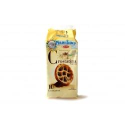 Crostatine de chocolate...