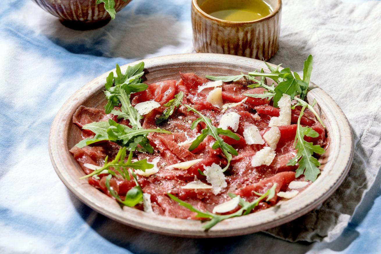 El carpaccio, el plato italiano que tiene su propia web oficial » JUST ITALIA – Trattoria + Mercado Gourmet en el corazón de Madrid